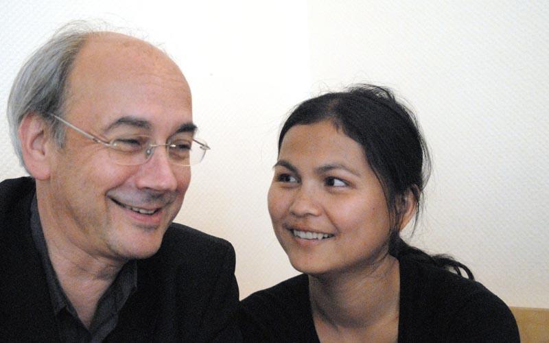 Ma Lwan Po Royen und Michael Royen